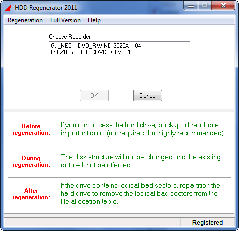 free hdd regenerator 2013 full version with crack