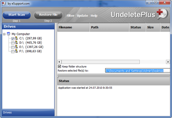 Download eSupport Undelete Plus 3061019 for