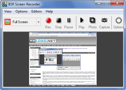 Bsr Screen Recorder - фото 4