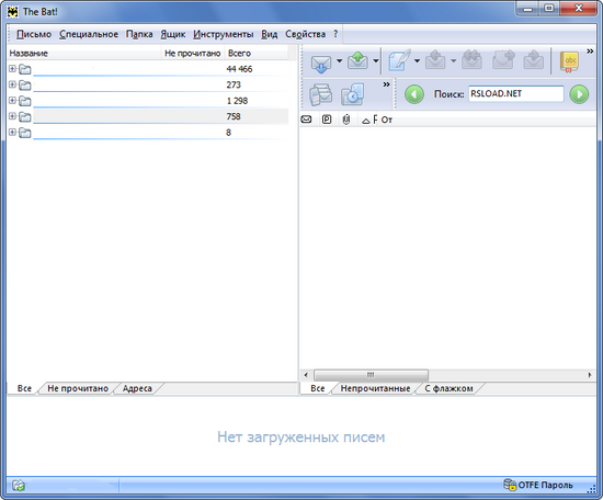 The Bat! Pro 5.0.30 Final + keygen + Portable k RSLOAD.NET.