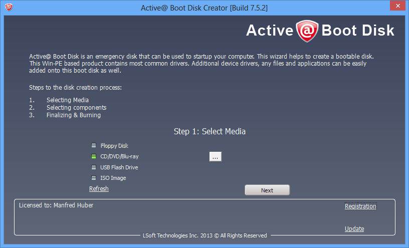 Active boot disk pro