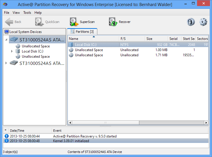 Active partition recovery rus торрент