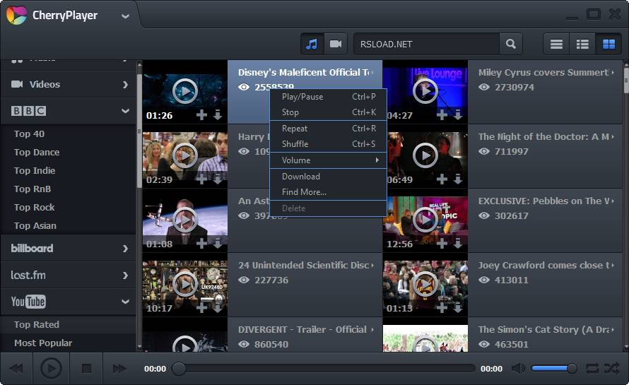الفيديو CherryPlayer 2.2.9 2016 CherryPlayer.2.0.0.B