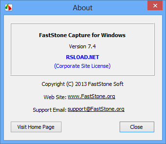FastStone Capture Rus
