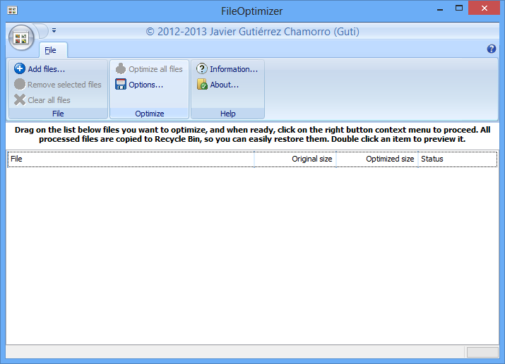 Fileoptimizer 2.10.135 - фото 4