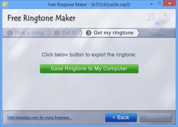 Free Ringtone Maker 2.4.0.1133 Portable