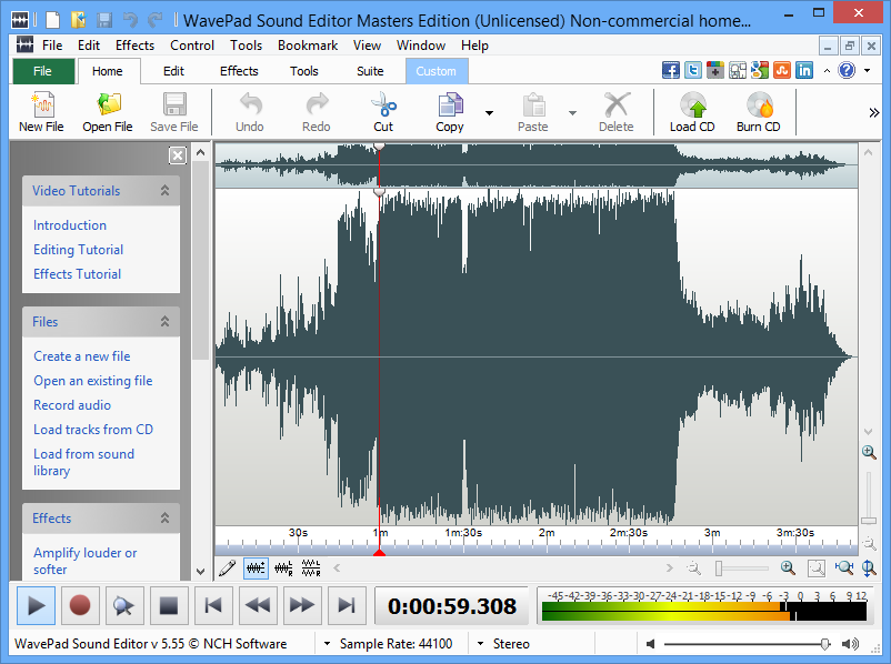 wavepad sound editor 7.05 crack + keygen