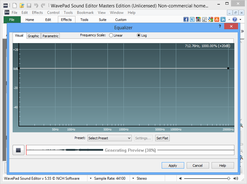 wavepad sound editor 4.52  crack