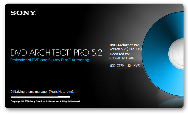 Sony DVD Architect Pro 5.0b 180 :: RuTracker.org (ex torrents.ru)