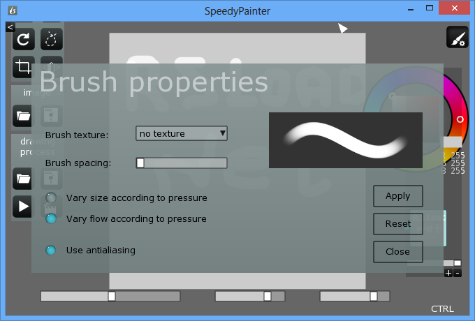 Speedy Painter Portable screenshot