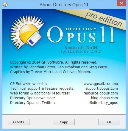 Directory Opus Pro 11.13 Build 5564 Full + License ...