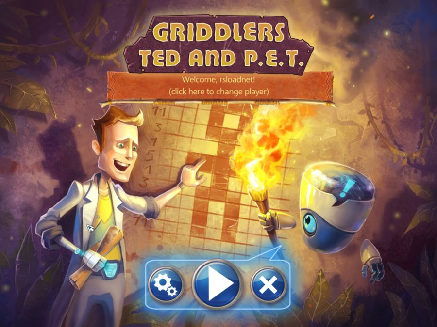 Griddlers Ted and P.E.T.